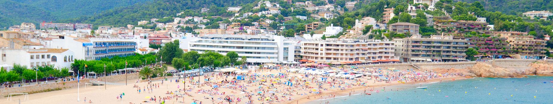 Vind uw busreis naar Tossa de Mar